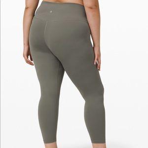 Lululemon gray sage leggings size 6!